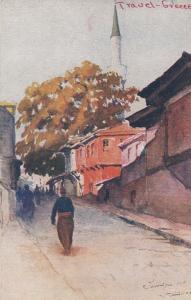 SALONIQUE - Greece 1900-10s ; Alexandre le Grand Street