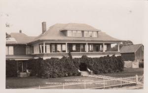 RP: MINDEMOYA , Ontario, Canada, 1910-30ss ; Manitoulin Hospital