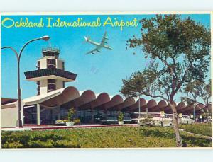 1985 Old Cars & International Airport Oakland California CA Q7659