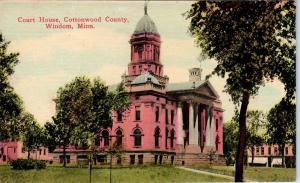 WINDOM, MN Minnesota   Cottonwood County COURT HOUSE    c1910s     Postcard