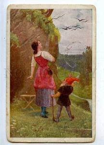 206853 Seven Ravens FAIRY TALE Gnome by Jos SUSS Vintage PC