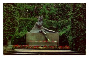 Latvia - Riga. Tomb of the Poet Janis Rainis