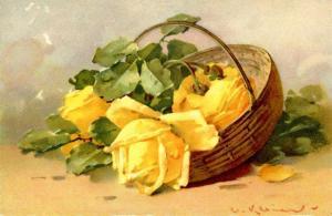 Flowers.   Artist: Catherine Klein