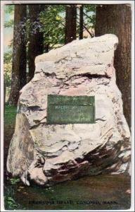 Emersons Grave, Concord MA