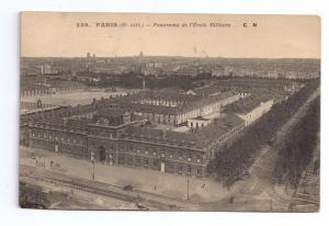 Paris Military School L'Ecole Militaire 1917 Postcard