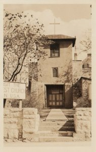 RP: SANTA FES , New Mexico , 1930 ; Oldest Church in USA