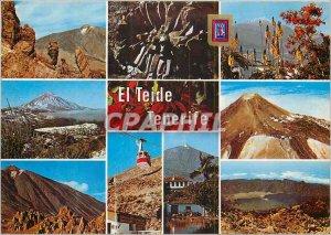 Postcard Modern Tenerife El Teide