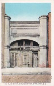 South Carolina Charleston Old Slave Market On Chalmers Street Curteich