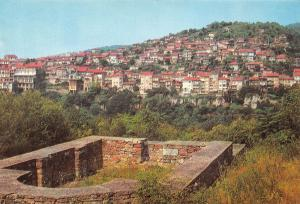 Bulgaria Veliko Tirnovo General View Panorama with the city
