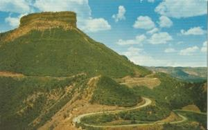 Entrance to Mesa Verde National Park unused chrome Postcard