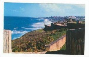 Ramparts-El Morro,Fort San Cristobal,San Juan,Puerto Rico,40-60s