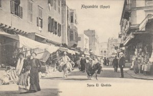ALEXANDRIE , Egypt , 1900-1910s ; Secca El Ghedida