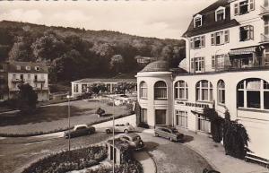 RP; Schlangenbad i. Taunus Kurhous m. Schlangenquelle, Hesse, Germany, 20-30s