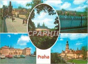 Postcard Modern Praga memories of Prague