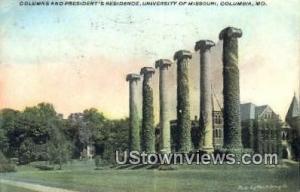 President's Residence, U of Missouri Columbia MO 1910