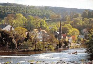 Wales Clwyd Llangollen The River Dee, beautiful landscape scenery scene