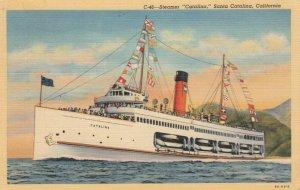SANTA CATALINA, California, PU-1941; Steamer Catalina