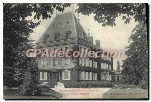 Old Postcard Gournay En Bray Chateau D'Elbeuf