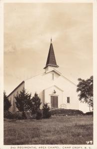 RP: 2nd Regimental Area Chapel , CAMP CROFT , South Carolina , 1943