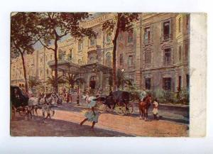 191928 EGYPT CAIRO Hotel Shepheard Vintage postcard