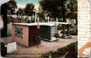 Boxer and Enterprise (Opium) War graves 1842 Portland ME US UK