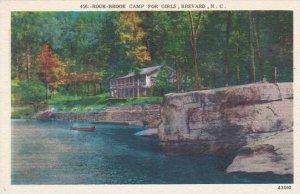 North Carolina Brevard Rock Brook Camp For Girls Albertype