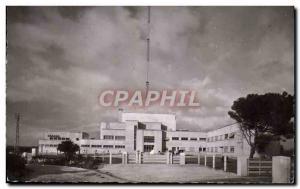 Postcard Modern Realtort Broadcasting Center transmitter