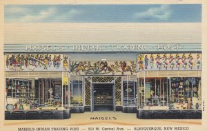 RT 66 ; ALBUQUERQUE , New Mexico , 1930-40s ; Maisel's Indian Trading Post