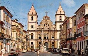 Church of the Sao Francisco Convent Salvador Brazil, Brasil Writing on back