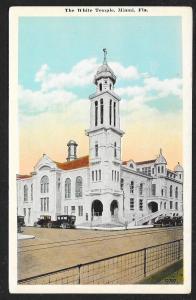White Temple Miami Florida Unused c1920s
