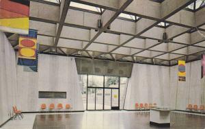 Interior View Of Memorial Hall, Confederation Centre, Charlottetown, Prince E...