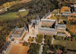 Belgium Abbaye de Maredsous Aerial view