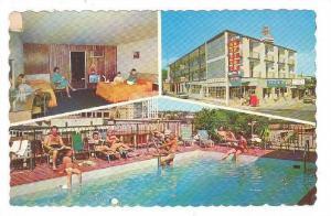 Swimming Pool, Three Views Of Clifton Motor Inn Hotel, Niagara Falls, Ontario...