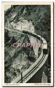 Postcard Old Mariazeilerbahn Party bei Annaberg Train