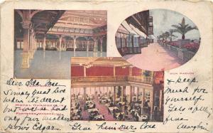 Fortress Monroe Virginia 1907 Private Mailing Card Postcard Hotel Chamberlain