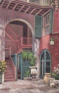 Louisiana New Orleans Brulatour Courtyard Royal Street