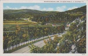 Arkansas Mountainburg As Seen From U S Highway 71