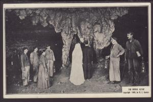 The Bridal Altar,Mommoth Caves,KY Postcard