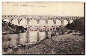 Postcard The Old Nimes Pont Du Gard and Gardon