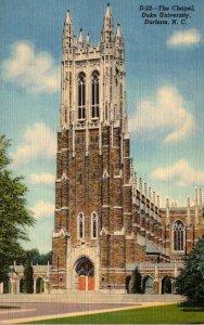 North Carolina Durham Duke University The Chapel Curteich