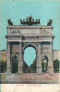 Italy Milano Arco dalla Pace
