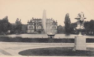 DRESDEN, Saxony, Germany, 1900-10s; Palais und Teith im Grossen Garien