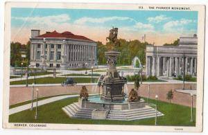 Pioneer Monument, Denver CO