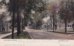 WINDSOR , Ontario , Canada , PU-1907 ; Victoria Avenue ; version 3