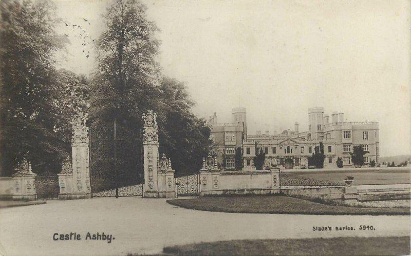 Postcard England Castle Ashby