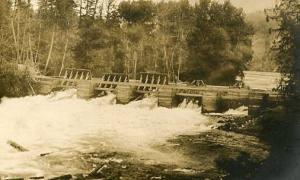 Canada - Dam and Bridge - RPPC