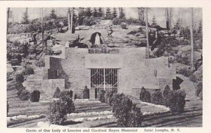 New York Saint Josephs Grotto Of Our Lady Of Lourdes And Cardinal Hayes Memor...