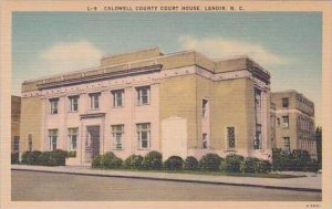 North Carolina Lenoir Caldwell County Court House