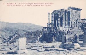 Algeria Djemila Vue du Temple des Severe