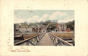 BR81425 upnor from the pier  uk